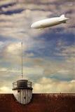 zeppelin stock afbeelding