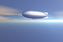 zeppelin stock illustrationer