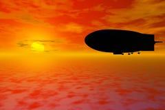 Zeppelin Royalty Free Stock Photos