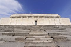 Zeppelin Field grandstand Royalty Free Stock Photo