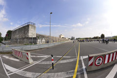 Zeppelin Field race track Stock Image