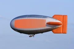 Zeppelin met exemplaarruimte Royalty-vrije Stock Fotografie