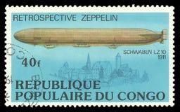 Zeppelin Schwabeen LZ 10 Stock Afbeeldingen