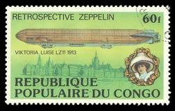 Zeppelin Viktoria Luise LZ 11 royalty-vrije stock fotografie