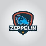 Zeppelinlogo Stockfotos