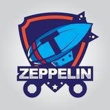 Zeppelinlogo Lizenzfreies Stockfoto