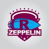 Zeppelinlogo Lizenzfreie Stockbilder