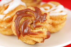 Zeppole of Saint Joseph's Day Stock Images
