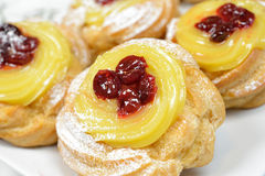Original zeppole Royalty Free Stock Image