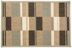 Zerbino multicolore d'annata di lana di Grey Black Beige Tiled immagine stock