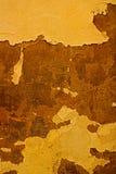 Zerbröckelnde übertragene Wand Lizenzfreies Stockfoto