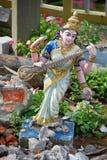 Zerbröckelndes Saraswati Stockfotografie