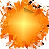 Zerbrechen von Sun Lizenzfreies Stockfoto