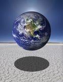 Zerbrechliche Erde Stockfoto