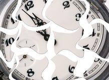 Zerbrochene analoge Stunden Stockbilder