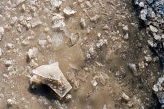 Zerbrochenes Eis Stockfotografie