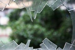 Zerbrochenes Glas Lizenzfreies Stockbild
