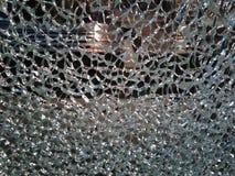 Zerbrochenes Glas stockbild