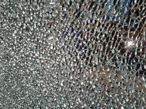 Zerbrochenes Glas lizenzfreie stockbilder