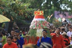 Zeremonie Apem Sewu Stockbilder