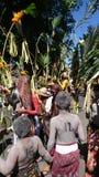 Zeremonie Bali Stockfoto