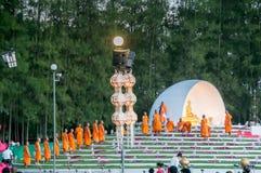 Zeremonie des buddhistischen Mönchs Lizenzfreie Stockfotografie