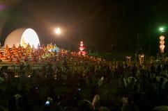 Zeremonie des buddhistischen Mönchs Stockbild