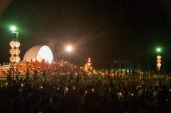 Zeremonie des buddhistischen Mönchs Lizenzfreie Stockbilder