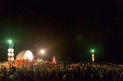 Zeremonie des buddhistischen Mönchs Stockbilder