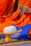 Zeremonie in Thailand Lizenzfreie Stockfotografie