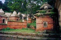 Zeremonieller bhuddist Verbrennungsfriedhof Lizenzfreie Stockfotos