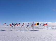 Zeremonieller Südpol Stockbild