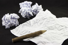 Zerfallenes Papier Lizenzfreie Stockfotografie