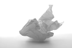 Zerfallenes Weißbuch Stockfoto