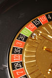 Zeri delle roulette del casinò Fotografia Stock Libera da Diritti