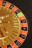 Zeri delle roulette del casinò fotografia stock