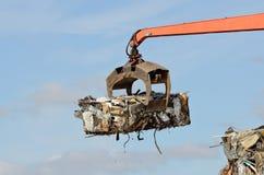 Zerkleinerungsmaschinen-Lader Stockfotografie