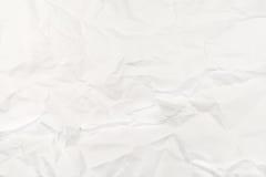 Zerknittert Papier stockbild