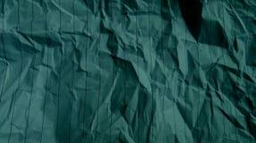 Zerknittert streift Linien Papierhimmelblau-Effekte Hintergrund lizenzfreies stockfoto