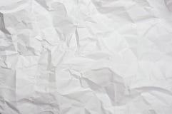 Zerknitterte Papierbeschaffenheit Lizenzfreies Stockfoto