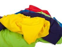 Zerknitterte T-Shirts Stockbild