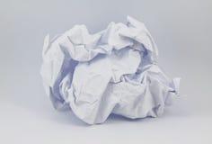 Zerknitterter Papierhintergrund Lizenzfreie Stockfotografie