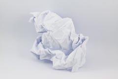 Zerknitterter Papierhintergrund lizenzfreies stockbild