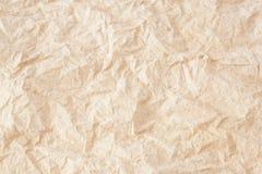 Zerknitterter Seidenpapier-Beschaffenheitshintergrund Stockfoto