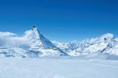Zermatt в Швейцарии Стоковое Изображение RF