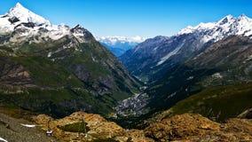 Zermatt royalty-vrije stock afbeeldingen