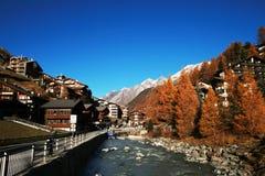 Zermatt Photographie stock