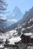Zermatt Lizenzfreies Stockbild