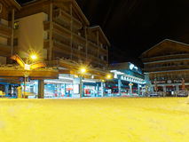 Zermatt-bahnhof Stockfoto