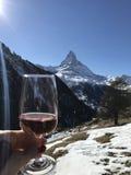 Zermatt Cervino Fotografía de archivo
